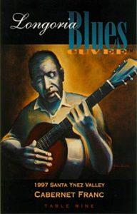 "Art ""Blues Man"" 1997-1998 Blues Cuvée Artist: Joshua Walsh"