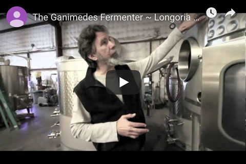 The Ganimedes Fermenter ~ Longoria Wines